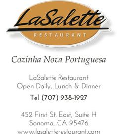LaSallete Restaurant | A Taste of Portugal in Sonoma, California