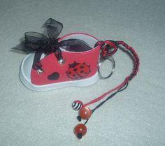 Bota joaninha Key Fobs, Ladybug