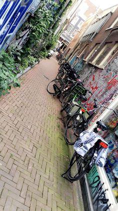 Amsterdam, Canal, Travel, Europe , bikes