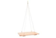 18€ Estante colgante madera natural. #estante #madera #colgante  Deskontalia Productos - Descuentos del 70%