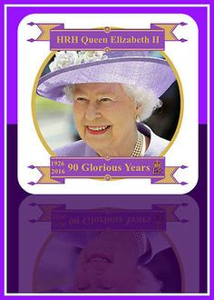 Hm queen #elizabeth ii 90th birthday commemorative #drinks #coaster, View more on the LINK: http://www.zeppy.io/product/gb/2/172128599101/