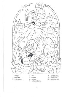 Számolós színező 20-ig - boros.patricia - Picasa Webalbumok Math Activities, Kids Learning, Coloring Pages, Numbers, Snoopy, School, Marquis, Fictional Characters, Babys