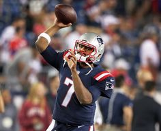 Jacoby Brissett; Welcome to the NFL