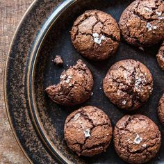 Salted Chocolate-Rye Cookies Recipes | Tasting Table
