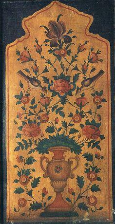 Persian Pattern, Persian Motifs, Papier Paint, Paisley Art, Iranian Art, My Art Studio, Flower Bird, Krishna Art, Orient