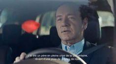 """Renault se paie Kevin Spacey pour la pub du nouvel """"Espace""""."""