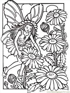Printable Fantasy Coloring Pages - AZ Coloring Pages