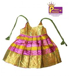 Cute New born Silk frock.. Pattu pavadai .. Langa .. pattu Pavadai .. Lehenga