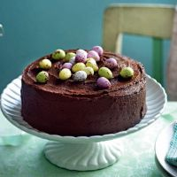 Chocolate Easter cake from Waitrose Kitchen Magazine, March 2012