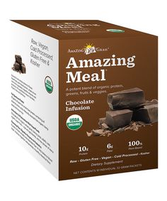Love this 10-Ct. Chocolate Amazing Meal Supplement Bar on #zulily! #zulilyfinds