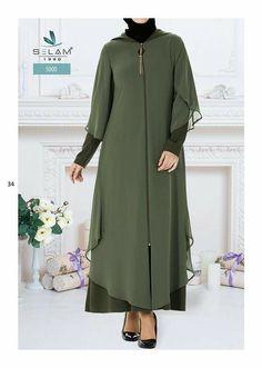 Elbise modelleri Muslim Dress, Hijab Dress, Hijab Outfit, Dress Outfits, Dress Skirt, Muslim Fashion, Hijab Fashion, Sophisticated Wedding Dresses, Abaya Pattern