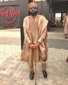 Throwback Thursday - Noble Igwe's Agbada Style 12