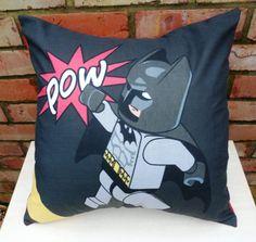 Batman Comic Pow Cushion - Handmade by Alien Couture Funky Cushions, Batman Comics, Fashion Earrings, Throw Pillows, Etsy, Pakistan, Cute, Piercings, Fashion Accessories