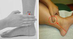 Le point de San Yin Jiao (SP6 – Spleen Point, ou Point Rate 6) – est un point extrêmement important pour la médicine traditionnelle chinoise, et plus précisément pour l'acupuncture. C'est le point de croisement de trois méridiens Yin : des reins, de la rate et du foie, les principaux organes de fabrication et de stockage du sang. Voici quelques éclairages sur les bienfaits de ce massage étonnant !