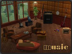 Around the Sims 2 | Objects | Hobbies | Music