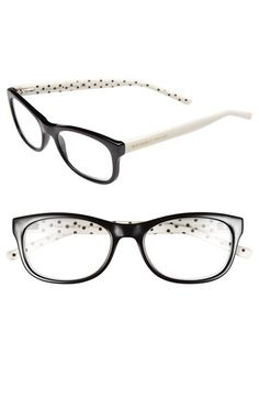 """""""I can see clearly now..."""" Kate Spade new york 51mm reading glasses available at #Nordstrom"""