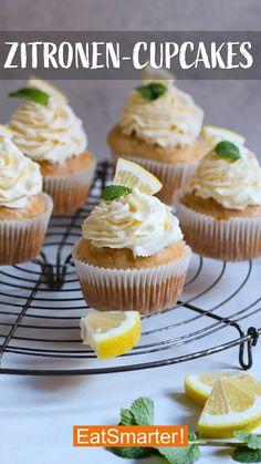 Oster Rezept: Zitronen-Cupcakes - Famous Last Words Dessert Recipes For Kids, No Cook Desserts, Homemade Desserts, Easter Recipes, Easy Desserts, Banana Pudding, Pudding Cake, Eat Smarter, Sweet Treats