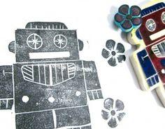 DIY Stamps - robobo