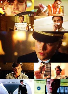 Leonardo Dicaprio - Catch me if you can (favorite movie ever)