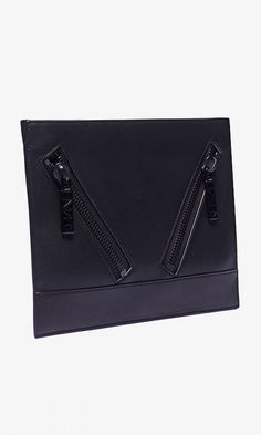 Supple leather clutch