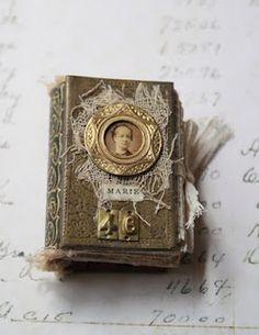 Miniature books by Sarah Fawcett