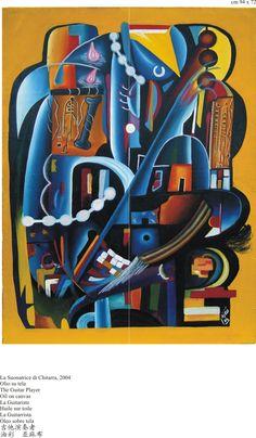DJESS REPUBBLICA POPOLARE DEL CONGO Congo, Cavaliers Logo, Team Logo, Oil On Canvas, African, Guitar, Pocket, Art, Rome