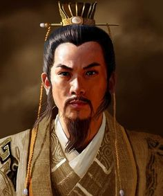 a digital artwork showing a chinese emperor of the Tang Dynasty