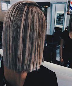 Asian Ombre Hair, Asian Hair Highlights, Blonde Asian Hair, Ash Blonde, Medium Hair Styles, Short Hair Styles, Short To Medium Hair, Brunette Hair, Balayage Hair