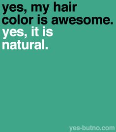 Yes my hair colour is natural, and yes... #gingerlove