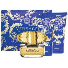 Buy Versace Yellow Diamond Intense Eau de Toilette 50ml plus Shower Gel 50ml plus Body Lotion Set Online at Chemist Warehouse®