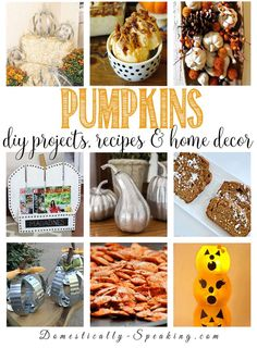 Pumpkin DIY, Decor a