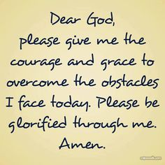 Courage and Grace