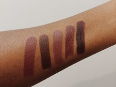 MAC lipsticks for dark skin.