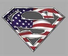 Superman american flag t shirt superman supergirl pinterest american superman logo voltagebd Gallery