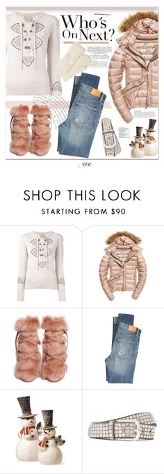 """Winter 2017"" by antal-era on Polyvore featuring Laneus, Fuji, Gianvito Rossi, Citizens of Humanity, National Tree Company, B. Belt, outfit, ootd, polyvoreeditorial and polyvorestyle"
