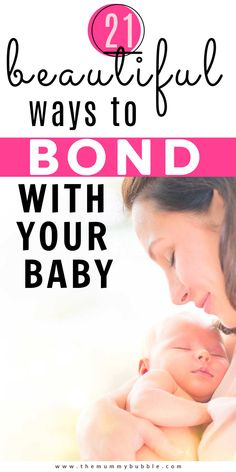 Things to do with your newborn baby to help you bond. Ideas for baby activities that will bring you closer together with your little one. Baby First Week, Babies First Year, Bonding Activities, Infant Activities, Newborn Baby Tips, Silly Faces, Baby Massage, Baby Development, Childhood Toys