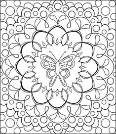Free Coloring Calendar Toadstool Page by Thaneeya | Coloring Pages ...