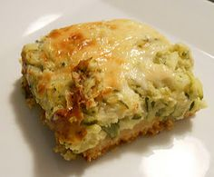 Zuchinni bake- with ground turkey instead of chicken. Added spinach and skipped the biscuits.