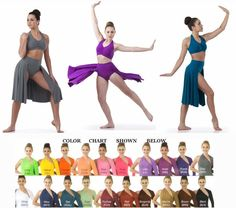 Fearless Lyrical Ballet Contemporary Ice Skating Dance Costume Child & Adult New #Cicci