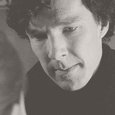 Sherlock kissing Molly, season 3, The Empty Hearse