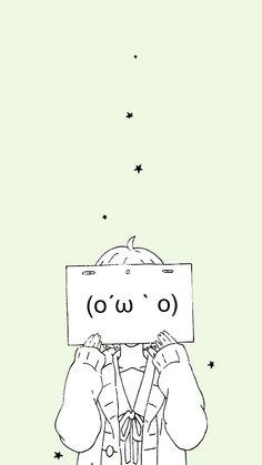 Work of Art K Wallpaper, Cute Anime Wallpaper, Pastel Wallpaper, Chica Anime Manga, Manga Girl, Anime Art, Dark Anime, Anime Triste, Anime Expressions