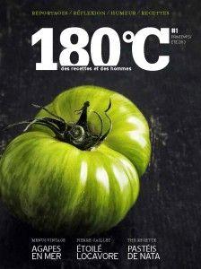 Acheter en ligne 180°C La revue culinaire - Numéro 1