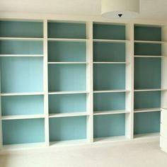 Marvelous Billy Ikea Bookcase - DIY Billy Built In Bookshelves