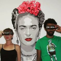 Frida - Stencil