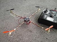 dquad (diy quadcopter) which can be built for less than $18 complete