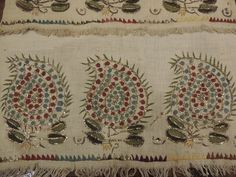 Vintage Embroidery, Embroidery Patterns, Cutwork, Rococo, Needle And Thread, Handicraft, Diy And Crafts, Ottoman, Textiles