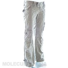 In Molecule's Himalayan Hipster Pants you'll be as comfortable hiking the Himalayas as checking out trendy cafés in durable, stylish, hip-hugging beauties with loose-legged, airy freedom and extra pockets. Hipster Pants, Cargo Pants Women, Small Waist, Fit Women, Black And Grey, Legs, Stylish, Beauty, Fashion