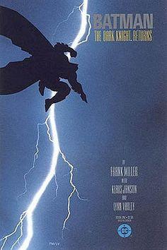 Batman: The Dark Knight Returns. Written by Frank Miller. Art by Frank Miller. Dc Comics, Batman Comics, Comic Book Superheroes, Comic Book Characters, Comic Books Art, Comic Art, Batman The Dark Knight, Batman Dark, Greg Capullo