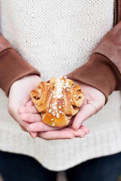 Finnish Cinnamon Rolls | My Blue&White Kitchen