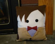 11th Doctor, Matt Smith pillow, plush, cushion